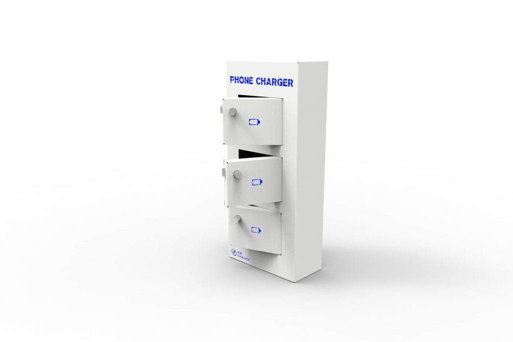 IceCharge – phone charging cabinet