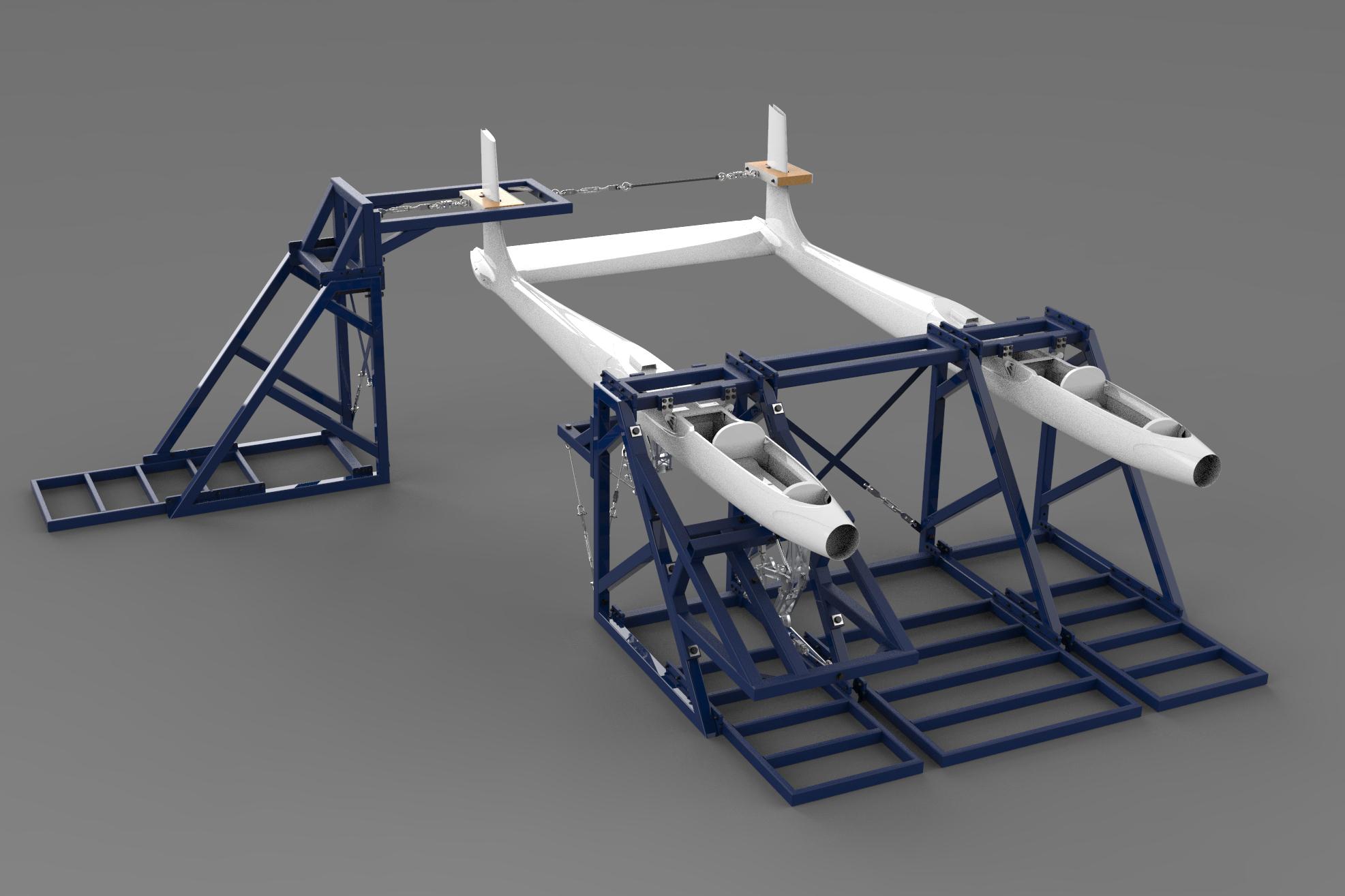 Ampyx Power – Fuselage Test Rig