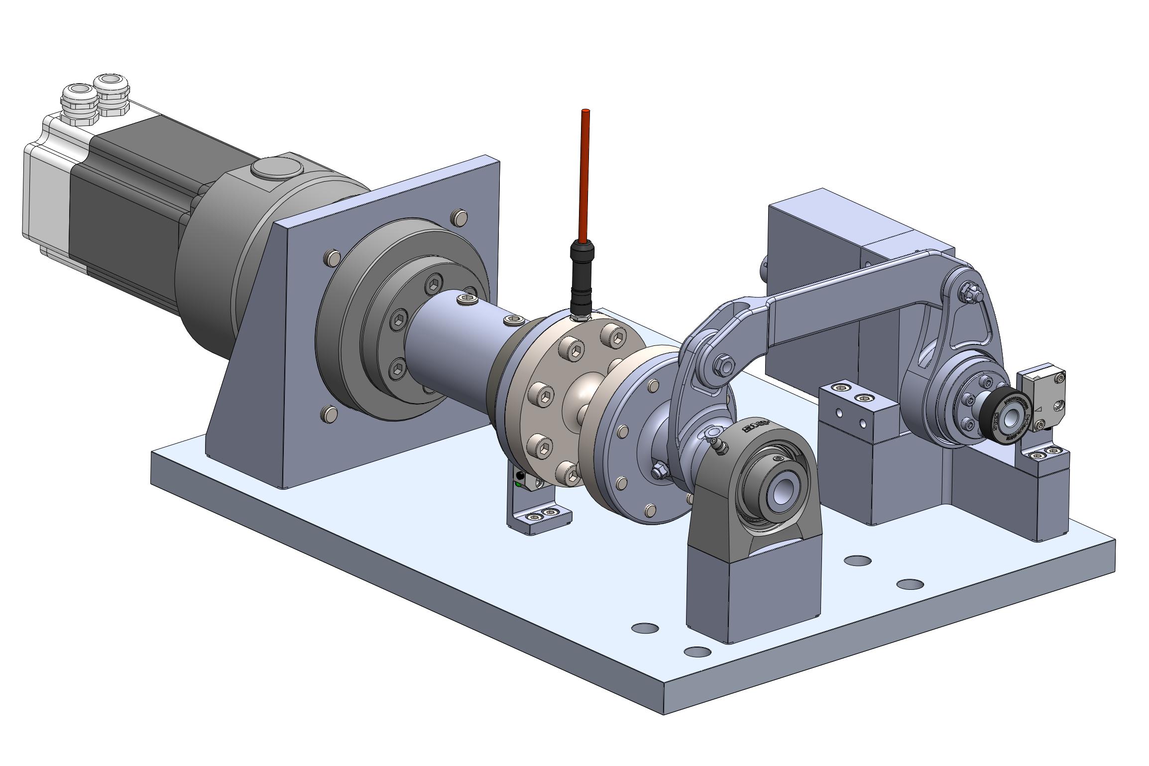 Ampyx Power – Horizontal Tail Mechanism Test Rig